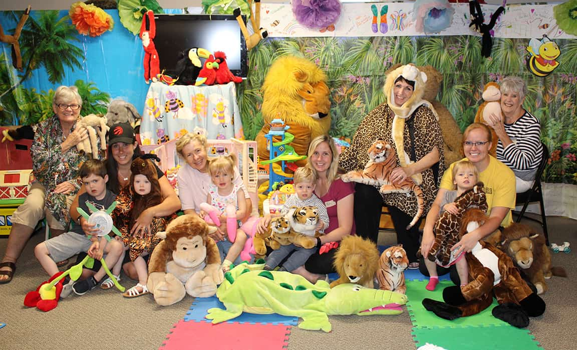 Kids 'Come to the Jungle' during the summer