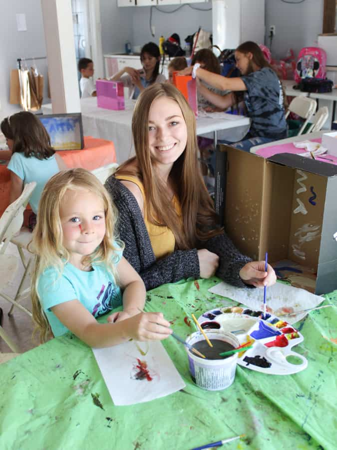 A Gift of Art Camp