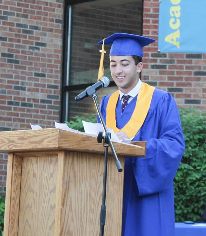 Valedictorian Noah Hosein 2