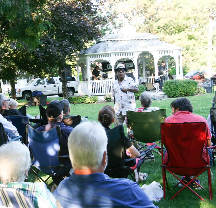 Newtonville Music in the Park draws crowd of 150