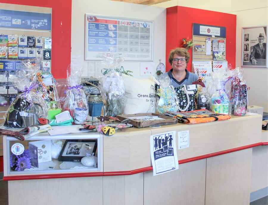 Orono Post office raffle to help kids in our community