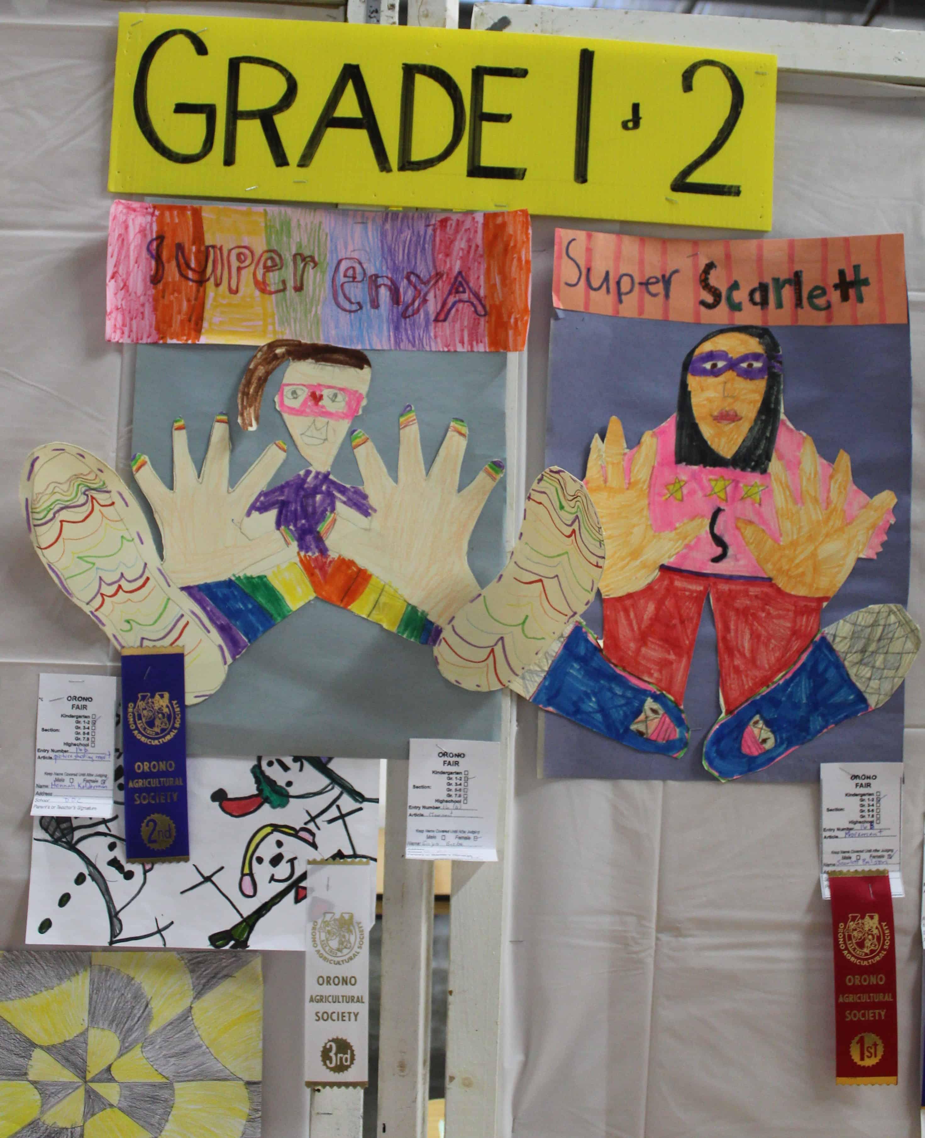grade 1 _ 2 art