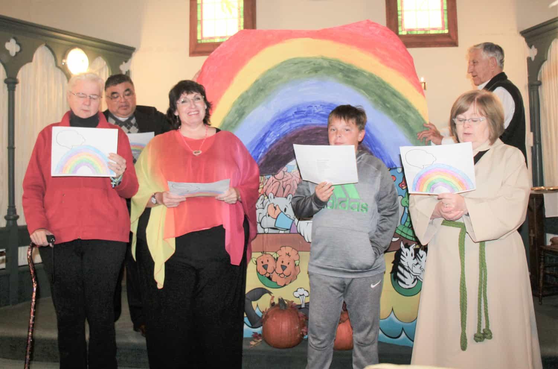 Community celebration at St. Saviour's