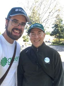 ON THE ELECTION TRAIL – Jeff Wheeldon, Green Party Candidate