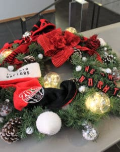 Community Hall lighting and Festival of Trees & Wreaths