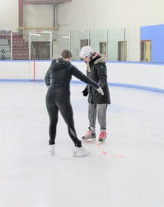 Read more about the article Never too late to learn to skate