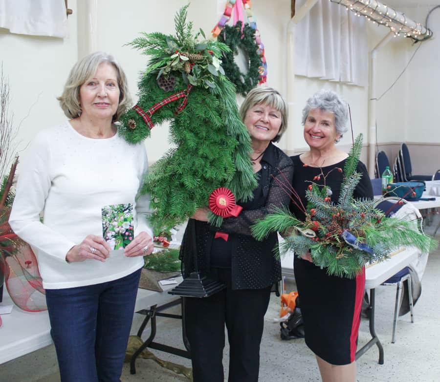 Christmas show winners