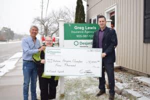 $4,000 grant to Durham Hospice – Clarington