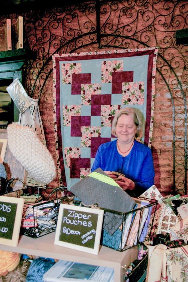 The Locals: Anne Bickell makes a seamless transition from automotive to quilt shop