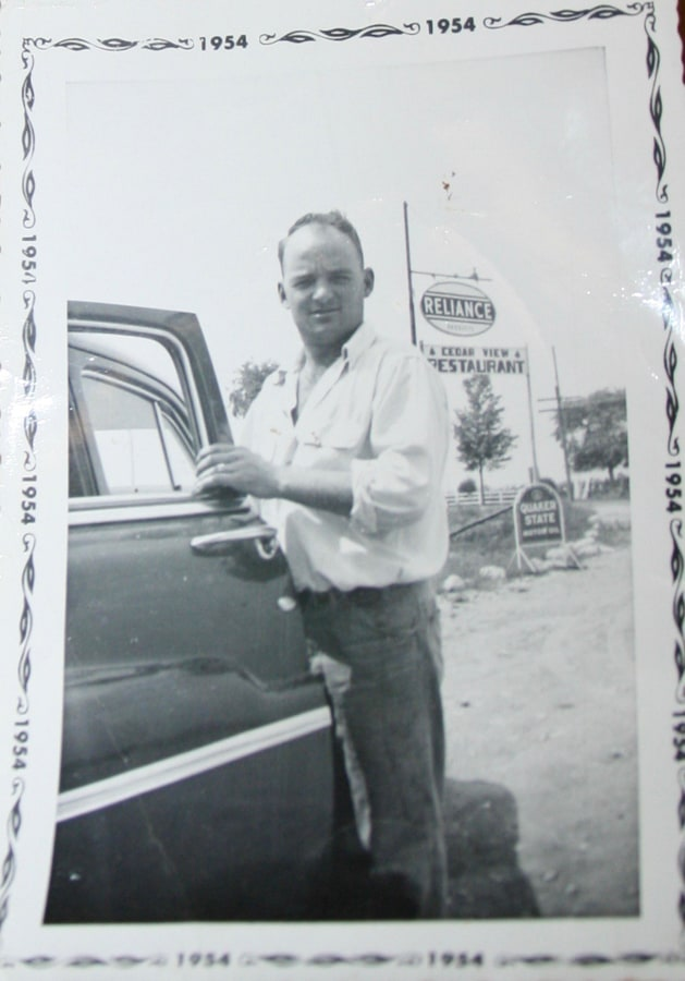 Bill Skelding in 1954_