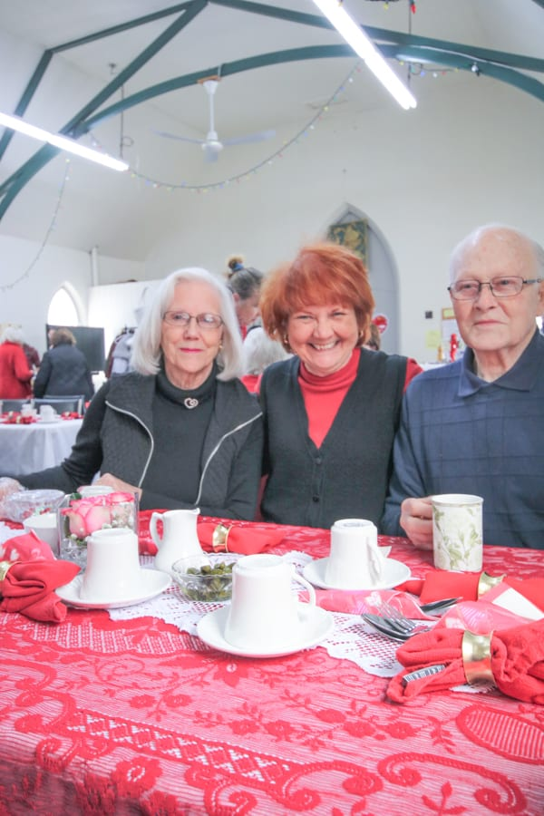 St. George's Anglican Church Valentine's Day Social and Sale