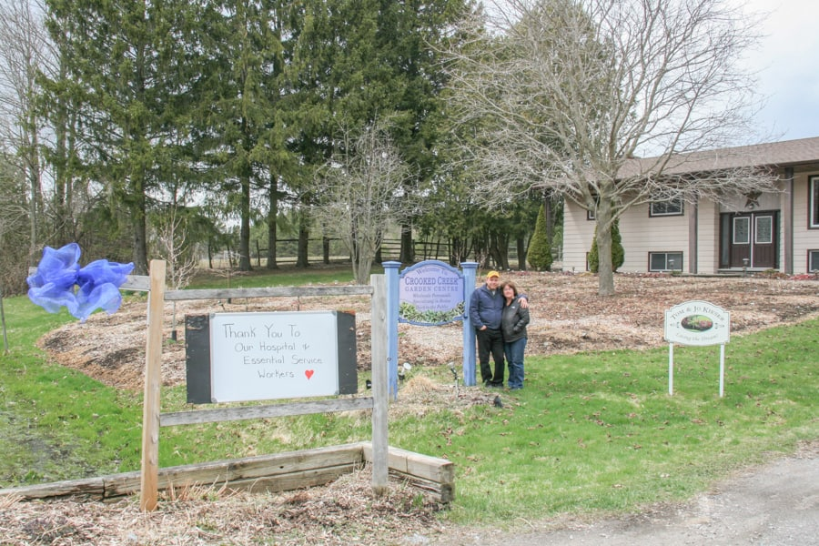 Crooked Creek Garden Centre to open May 10 for curbside pick up