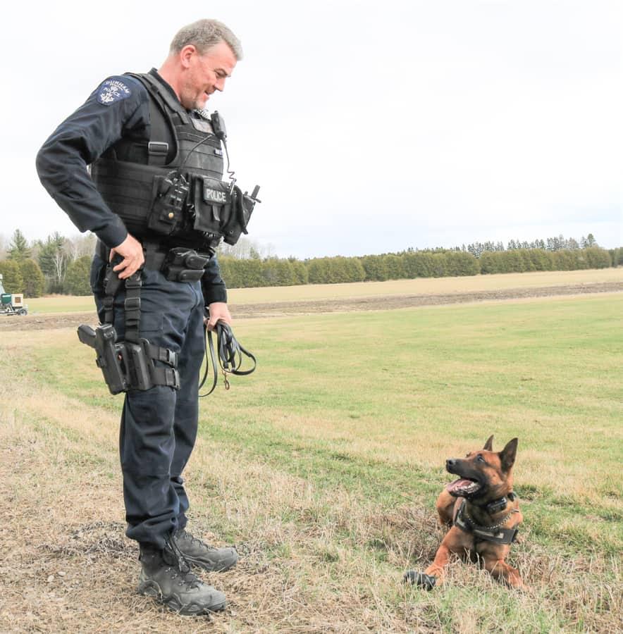 Durham Region Police Services K9 unit