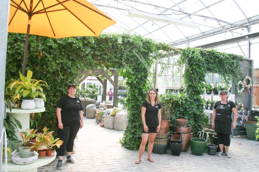 Customers delighted by safety protocols at Bloom Field Garden and Floral Centre