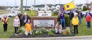 Kendal Lions Club supports essential frontline workers at LTC facility