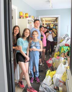Summer community food drive
