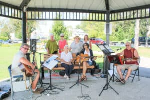 Music in the park for hospice