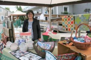 Last patio art show