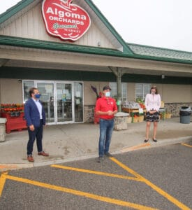Algoma Orchards receives funding to become more innovative and competitive