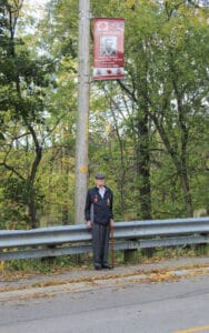 Local veteran honoured with service banner in Orono