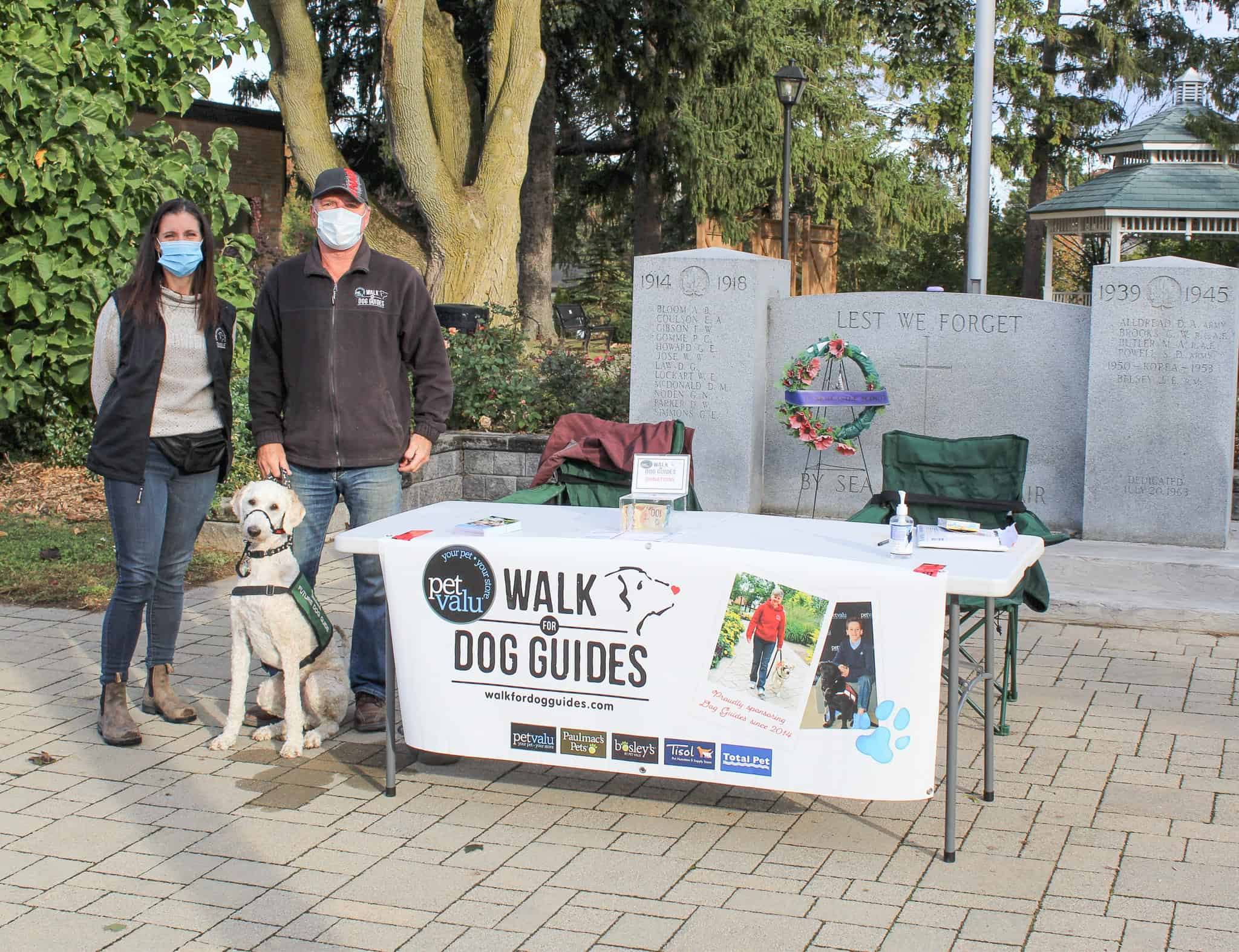 October 4th Walk for Dog Guides