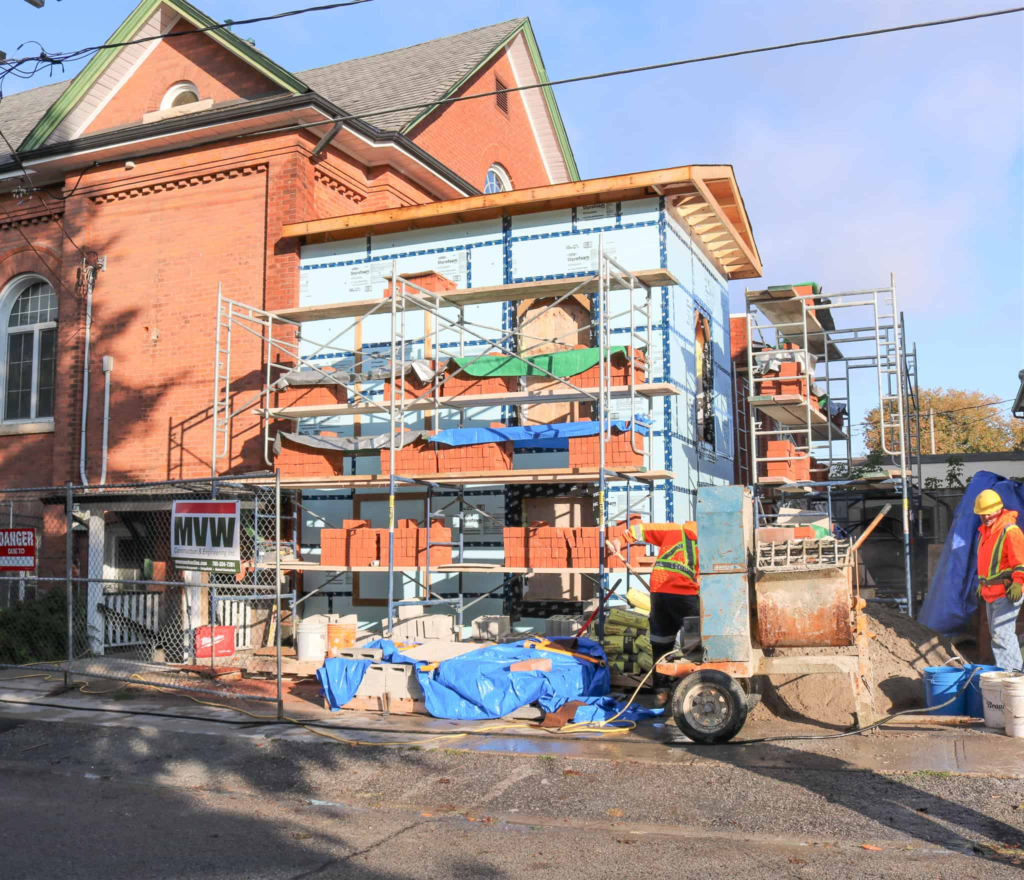 Town Hall progressing