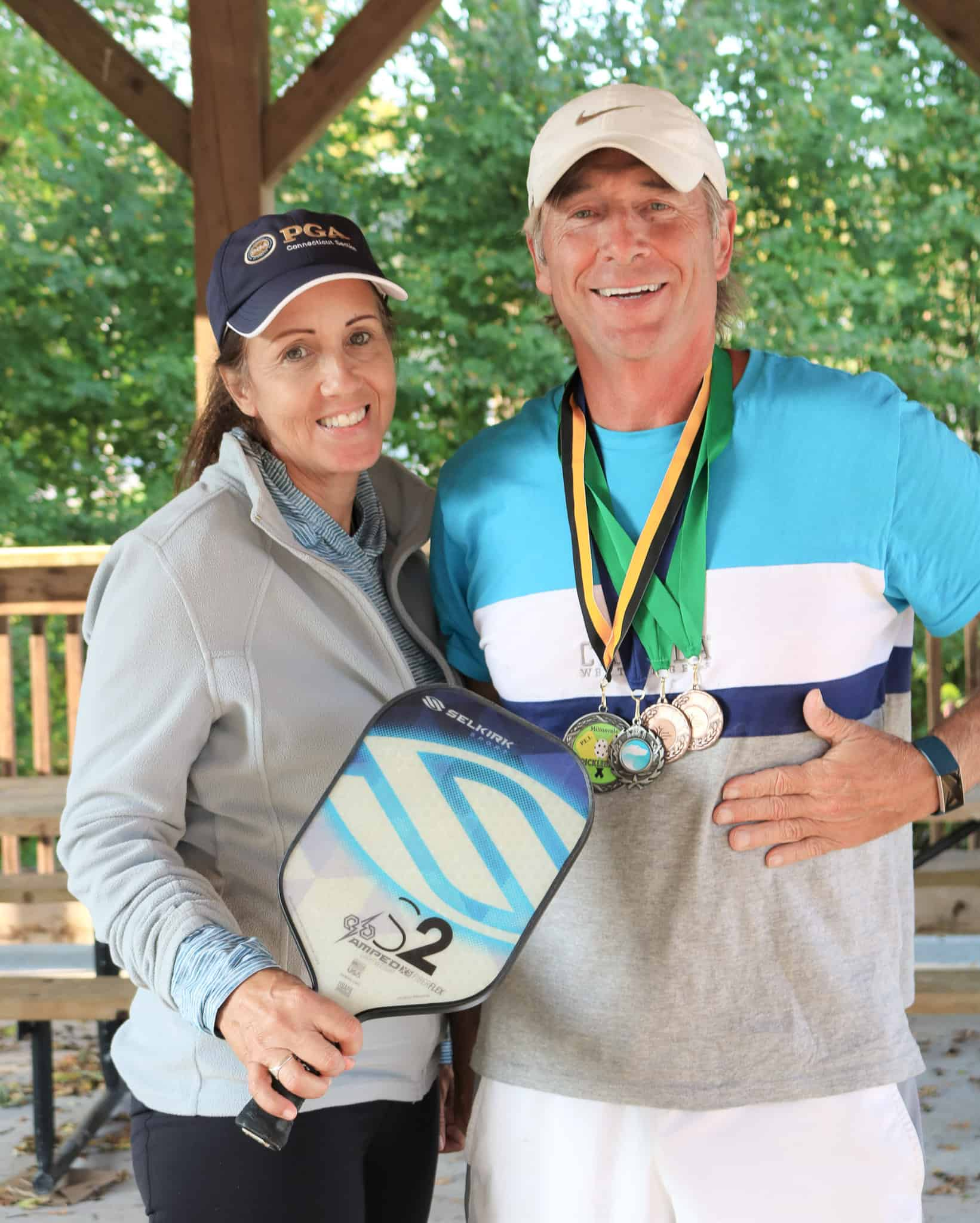 Pickleball loads of fun and a great way to stay in shape