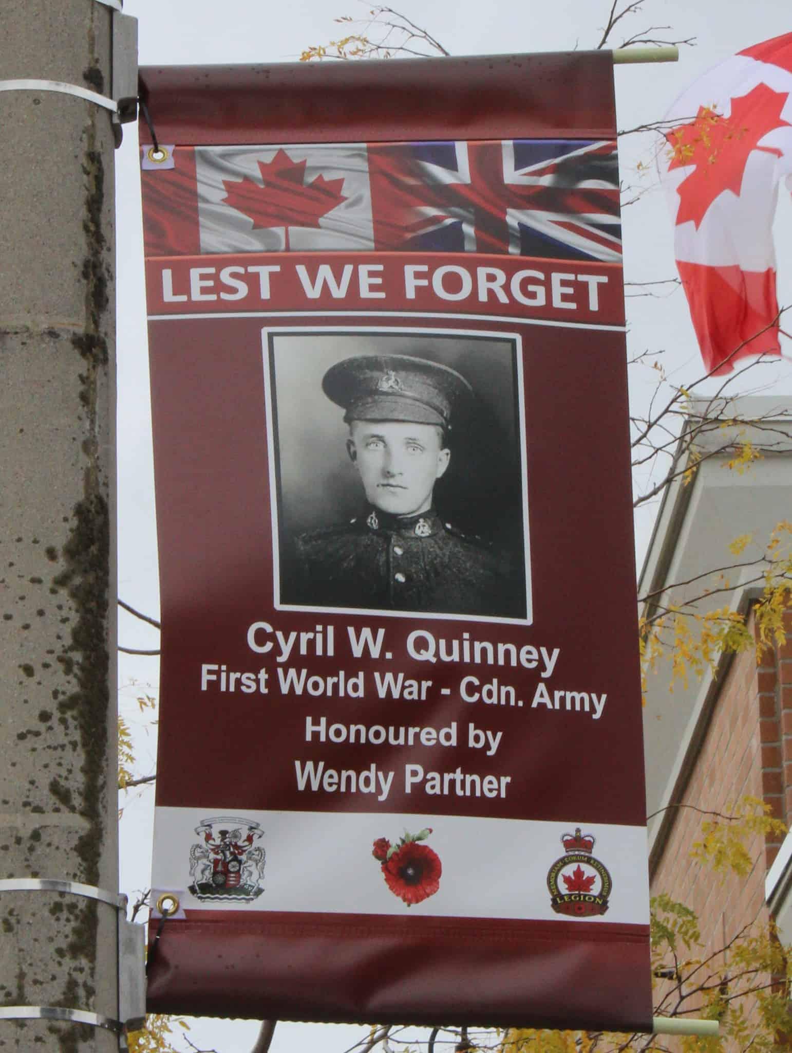 Cyril Quinney war hero