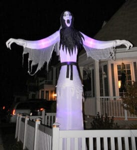 Read more about the article A spooky halloween greeter
