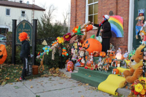 Read more about the article Community carved pumpkins add to the magic