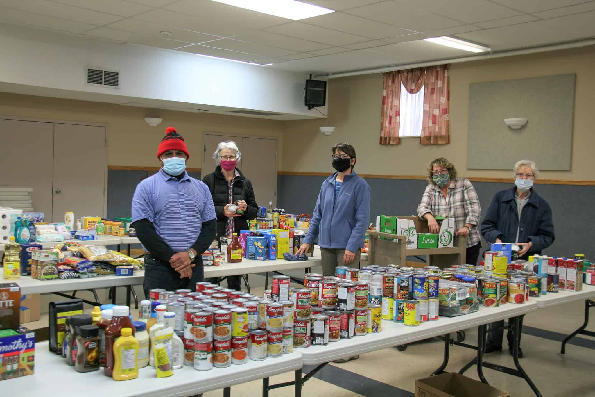 Food Drive a success for St. Vincent de Paul