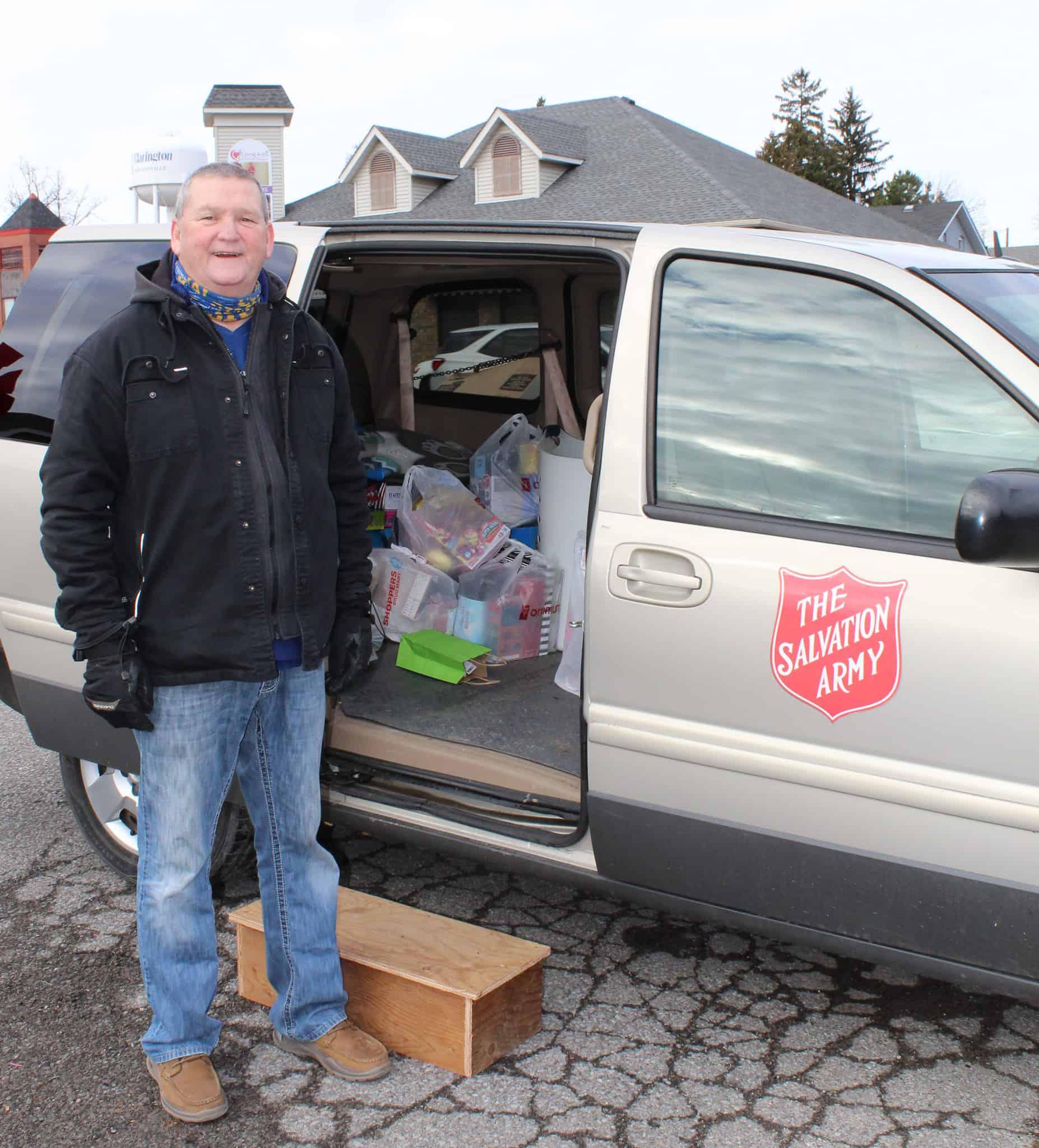 Salvation Army Stuff the Van