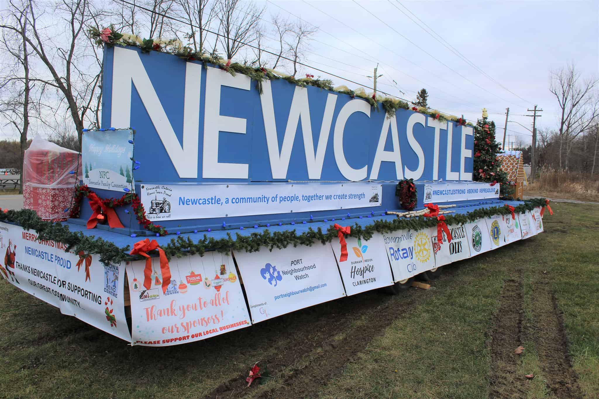 20201213-Newcastle Proud community float3