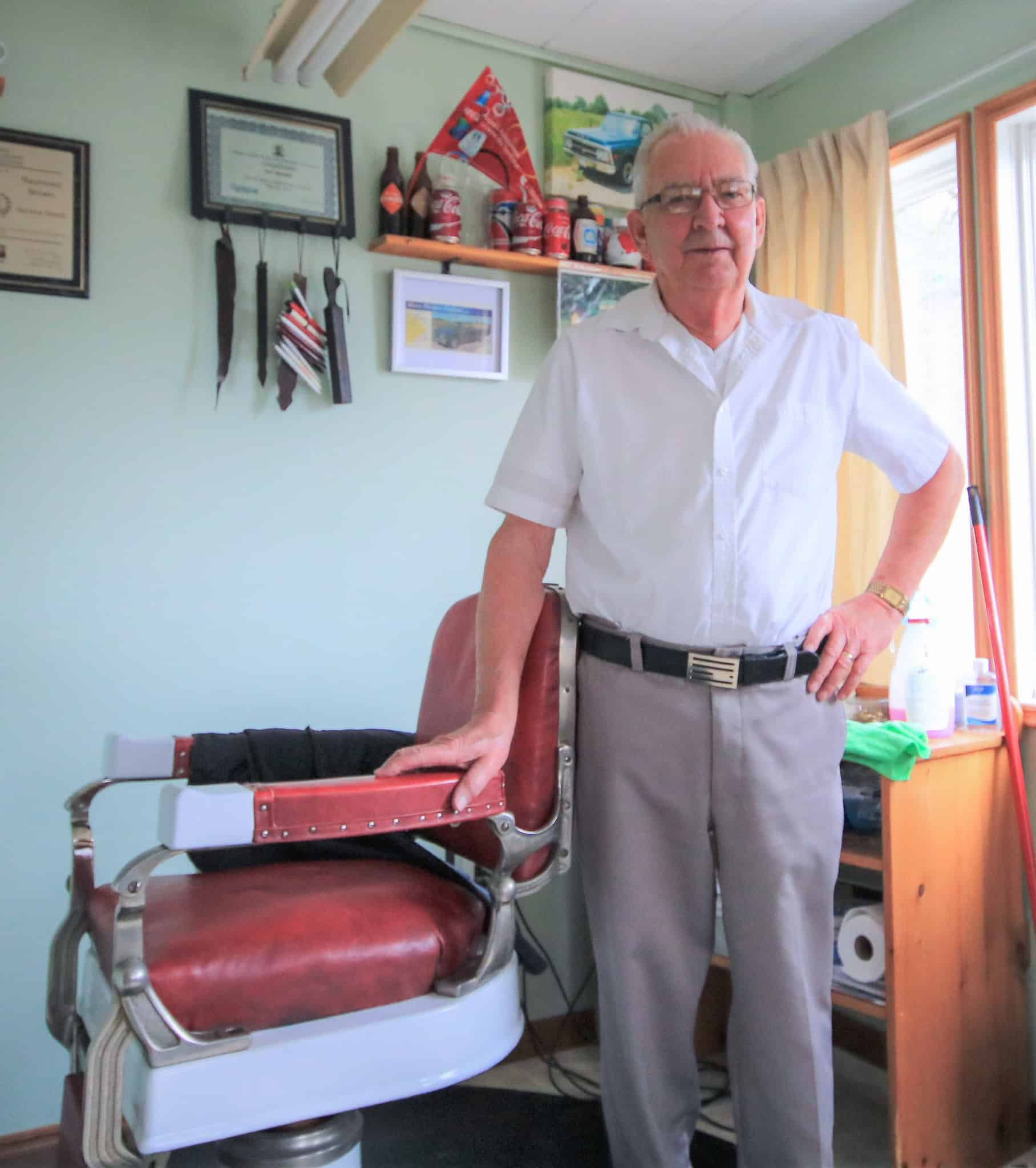 The Locals: Ray Brown – The best Barber in town