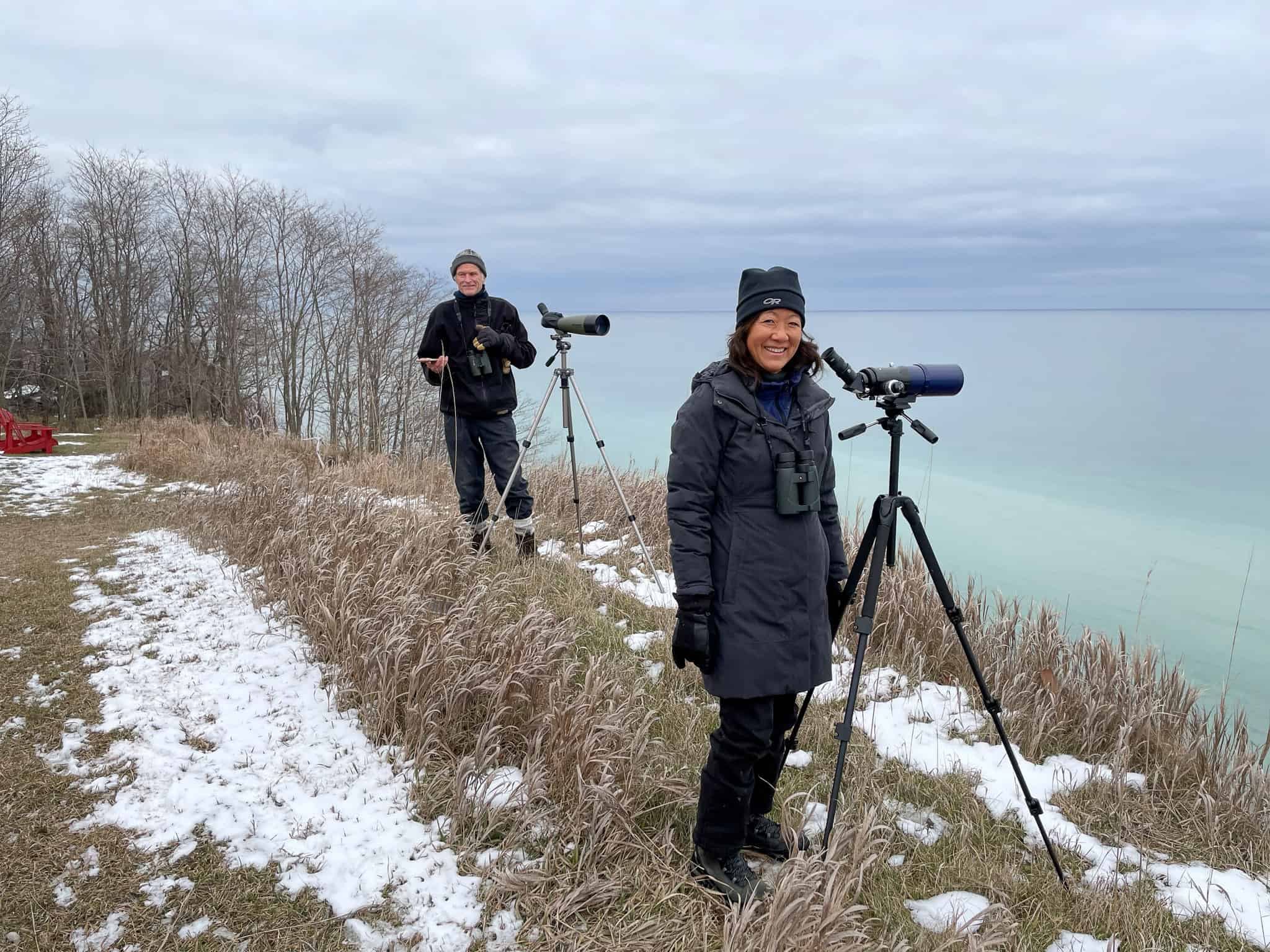 Getting all our ducks in a row: The Annual Lake Ontario Mid-winter Waterfowl Inventory