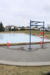 Colder temperatures needed to get Pearce Farm Park outdoor rink skate ready