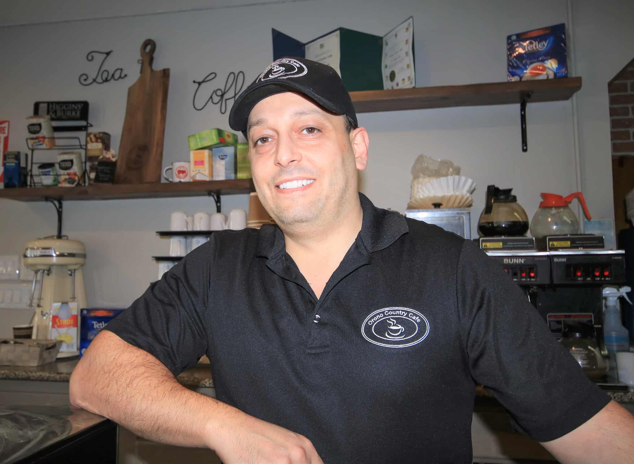 Orono Country Café home of the 'Amin Burger'