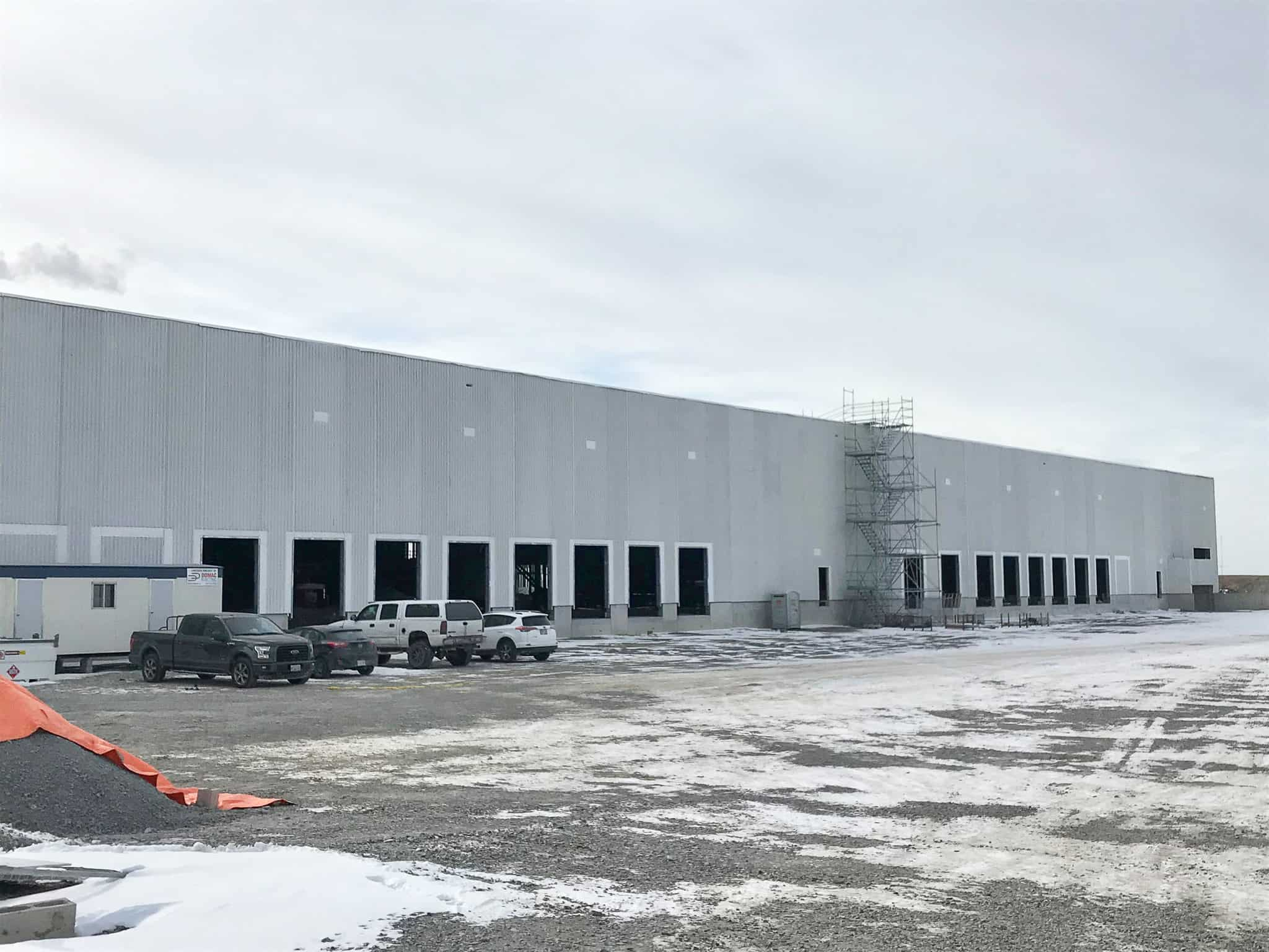 Coming soon: National headquarters for East Penn's battery distribution and warehouse facility