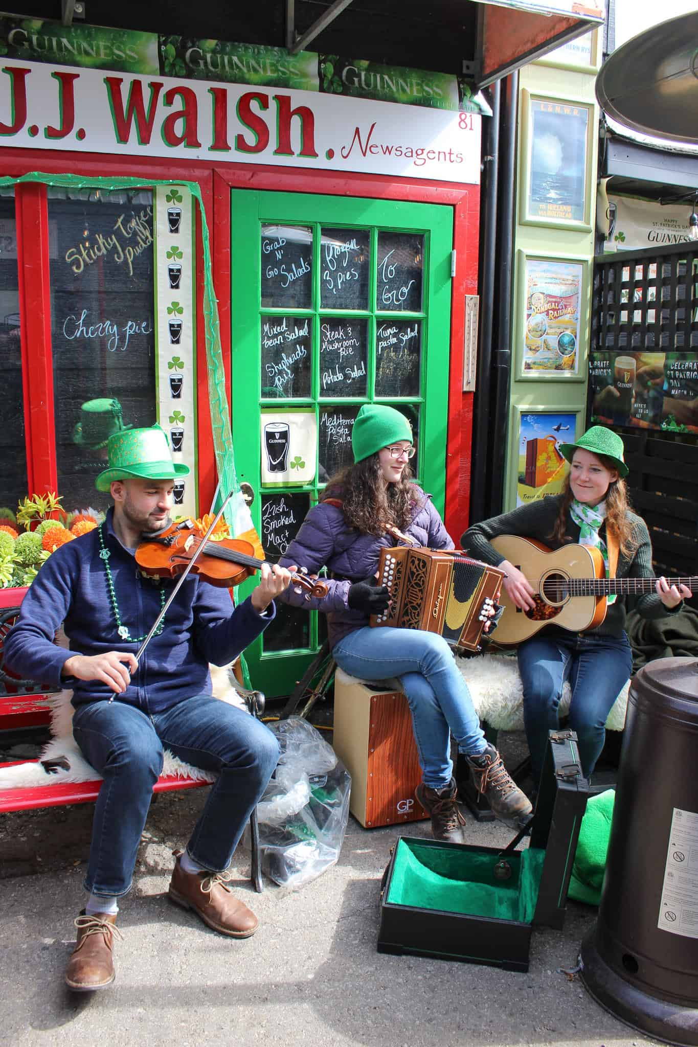 Sharing the sounds of Ireland