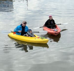 Read more about the article 'KOVID' kayaking