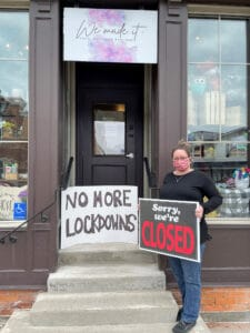 Read more about the article Lockdown's toll on local business causes frustration