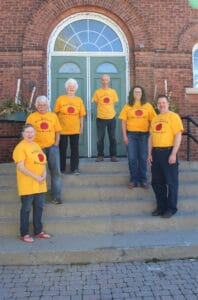 Read more about the article OHS t-shirts in bloom
