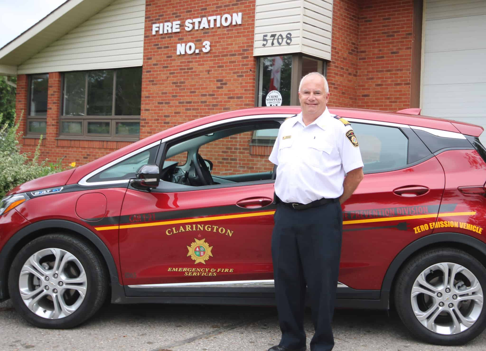 Read more about the article The Locals: Chief Gord Weir –  Sharing the memories