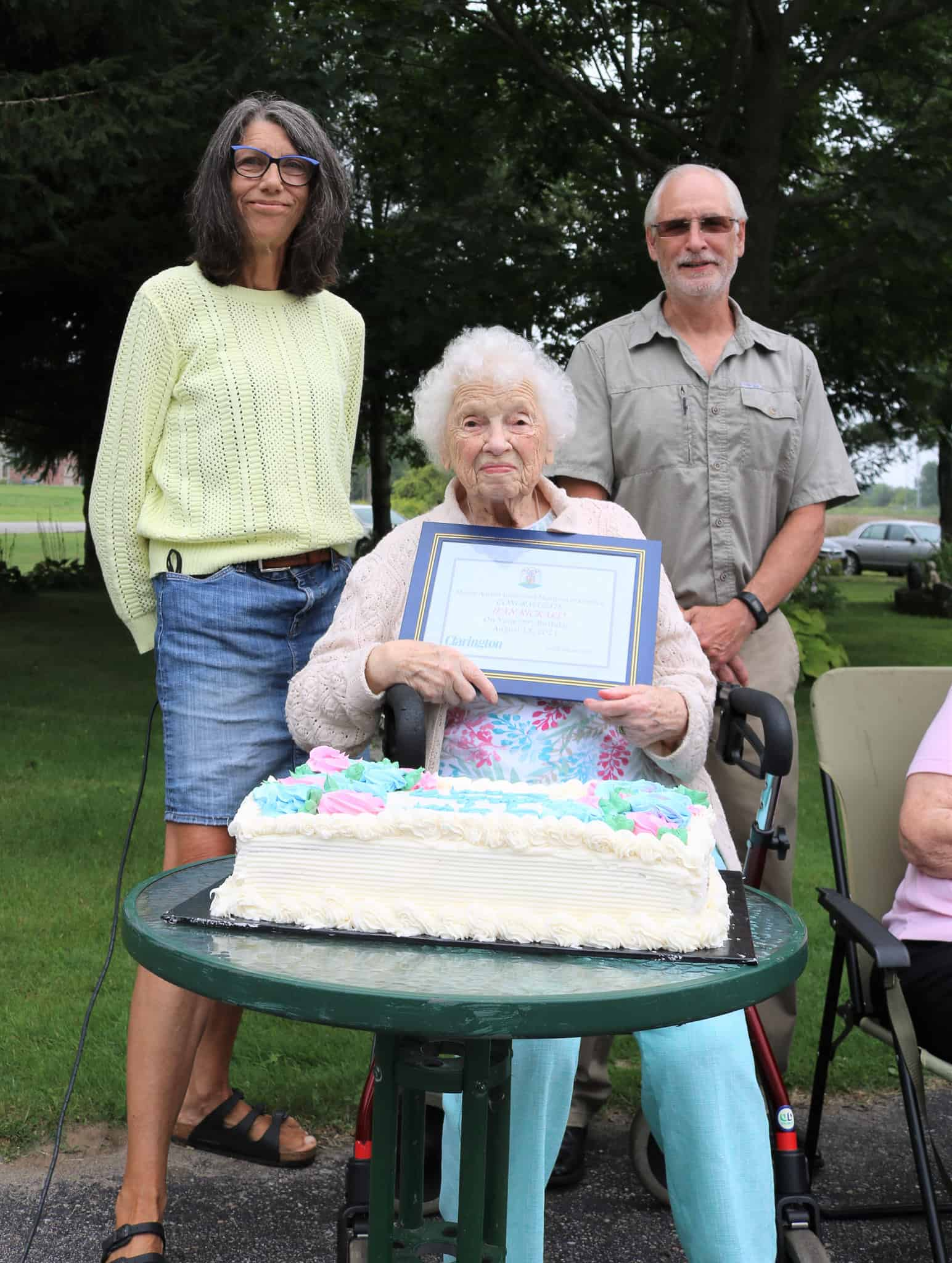 Read more about the article Happy 99th to Jean Rickard