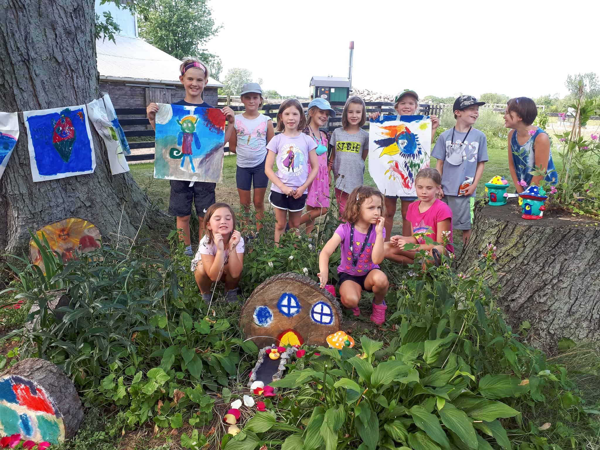 Read more about the article Fantasy Week Camp at The Art Room