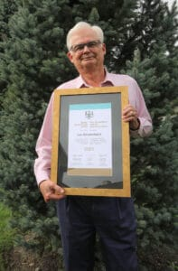 Read more about the article Committed citizen receives Senior Achievement Award