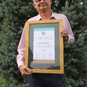 Committed citizen receives Senior Achievement Award